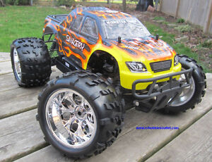 New RC Truck Brushless Electric 1/8 Scale TOP 2 LIPO 4WD RTR Kitchener / Waterloo Kitchener Area image 5