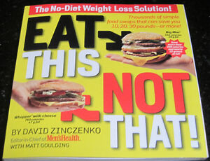"Book ""Eat This Not THAT"" No-Diet Weight Loss *NEW*"