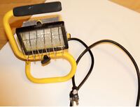 PPU: Halogen Work Lamp WIth Front Cage