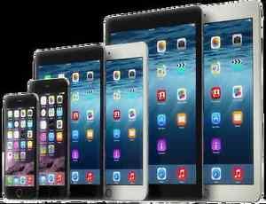iPad iPod iPhone 4 4S 5 5C 5S 6 Plus 6S LCD Glass Repair Service