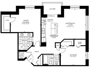 Largest 2 bed, 2 bath corner unit at Reflections at Laurelwood