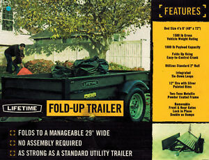 Fold-up Trailer
