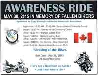 Awareness Ride (all bikers welcome)