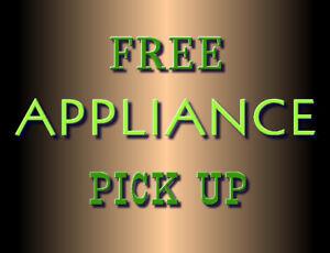 Free Appliance Pick up