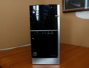 HP Pavilion 500 Desktop (AMD A10 6800K 4.0GH/z 12gb Ram 500 HDD)