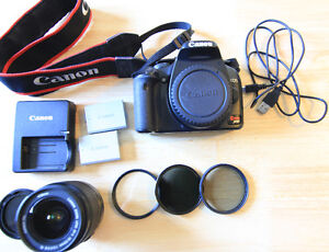 Canon Xsi with 18-55 lens