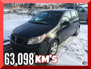 2010 Pontiac G3 Hatchback CARPROOF AVAILABLE
