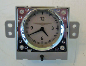 2006-2010 PT CRUISER CENTER DASHBOARD BEZEL CLOCK