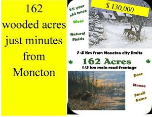 one hundred sixty two acres for $130,000