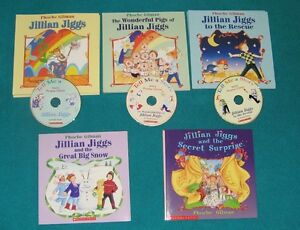 Jillian Jiggs Book Collection some with Cds