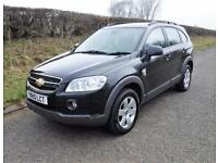 2010 CHEVROLET CAPTIVA LT 2.0 VCDi DIESEL 7 SEATER, Black, Manual, Diesel