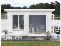 4m x 3m log cabin