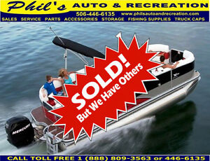 SOLD SOLD  2013 LOWE X250 PONTOON PACKAGE