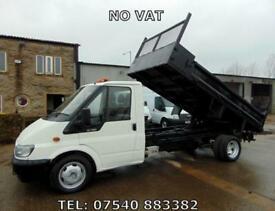 2006 06 FORD TRANSIT TIPPER, DROPSIDE, PICK UP, 1 COUNCIL OWNER, ONLY 54800 MILE