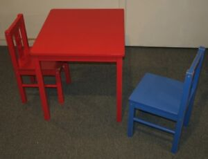 Table et chaises/Table and chairs IKEA
