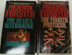 Frederick Forsyth Novels