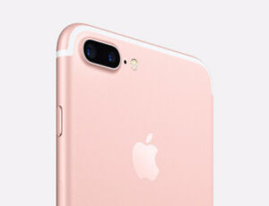 iphone 7plus32gb roz gold good condation with apple waranty $500