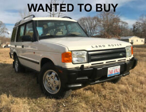 Wanted 1995 Land Rover Discovery