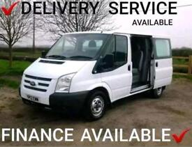 2012 FORD TRANSIT 2.2TDCi (100PS) 280 LR SWB ~ 6 SEAT CREW VAN ~FINANCE ARRANGED