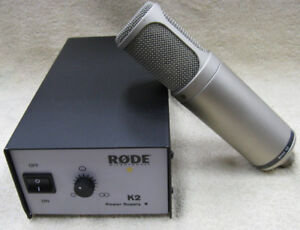 **SELLING LNIB 10/10 CONDITION RODE K2 TUBE MICROPHONE**