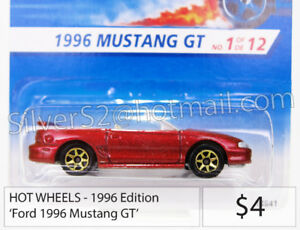 = HOT WHEELS 1996 Ed. FORD 1996 Mustang GT Convertible =