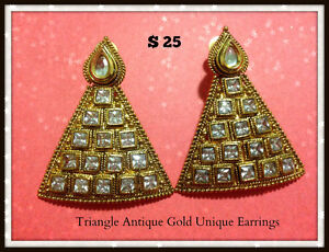 Brand New Traditional Unique Earrings from India