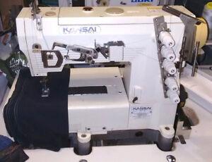 KANSAI SPECIAL/JUKI INDUSTRIAL COVERSTITCH SEWING MACHINE