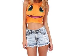 Women's Pokemon tank tops