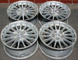 "4 - 17"" Aluminum Wheels 5 x 115 Bolt Pattern"