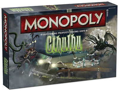 Cthulhu Collector's Edition Monopoly Board Game