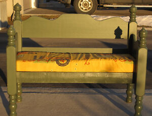Solid Wood Bench Seat