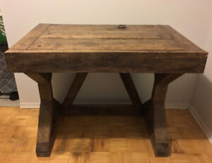 Rustic Hand Made Wooden Desk