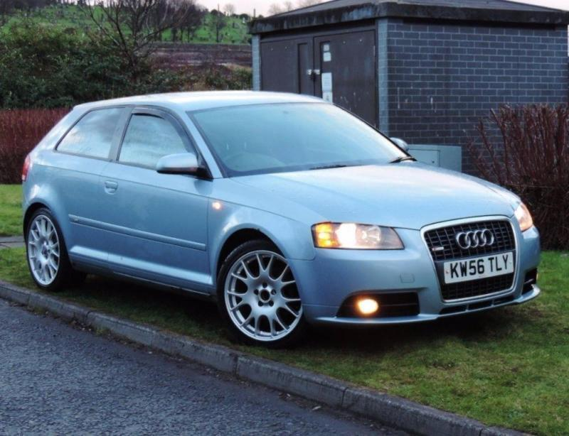 2007 audi a3 2 0 tdi s line 3dr in glasgow gumtree. Black Bedroom Furniture Sets. Home Design Ideas
