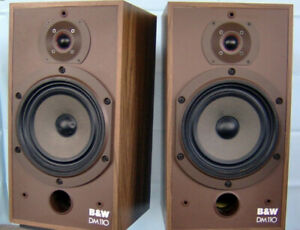 B&W DM 110 SPEAKERS