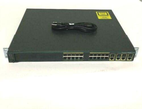 WS-C2960G-24TC-L Cisco Catalyst C2960 24 Port Gigabit Ethernet Managed Switch