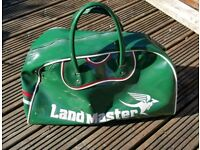 For sale is a vintage Land Master sport bag.