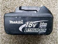 Makita 18v lxt battery 3ah