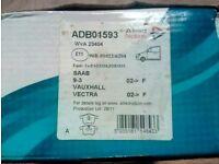 Vauxhall vectra c brake pads