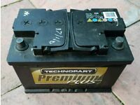 Battery 12v petrol diesel only £35 tested and full working 72Ah 670A Sandfields
