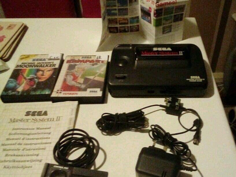 Sega master system games console bundle