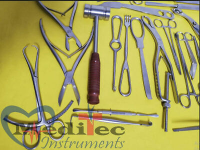 Basic Orthopedic Surgery Set Of 25 Pcs Surgical Instruments Quality A