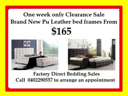FACTORY DIRECT SALE QUEEN,DOUBLE,SINGLE BED FRAMES FROM $165.00 Broadmeadows Hume Area Preview