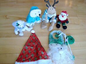 5 Assorted Christmas Plush + 1 Hat - Selling the whole lot Kitchener / Waterloo Kitchener Area image 6