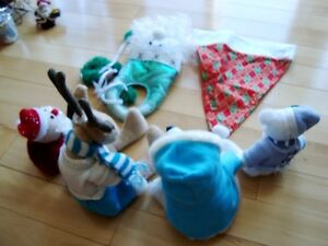 5 Assorted Christmas Plush + 1 Hat - Selling the whole lot Kitchener / Waterloo Kitchener Area image 5