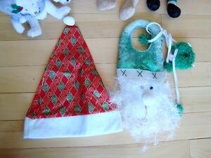 5 Assorted Christmas Plush + 1 Hat - Selling the whole lot Kitchener / Waterloo Kitchener Area image 4