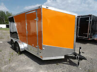 Miska Enclosed Motorcycle Haulers – Loaded with Features!