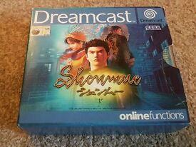 Shenmue for Sega Dreamcast