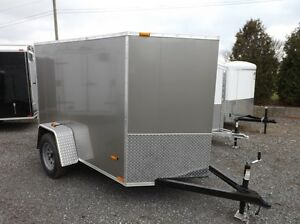 Miska 5' Wide Enclosed Trailers