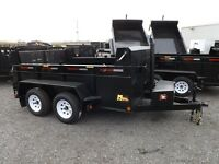 3.5 Ton Miska Dump Trailers – Proudly Canadian M