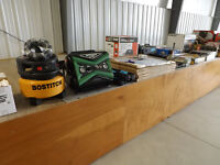Great Selection of Tools and more at Bryan's Home Reno Auction
